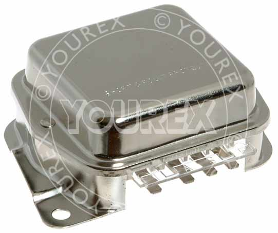 E2PZ-10316A - Regulator Ford GR-534/540, 12V - Ford, Ersättming - Regulatorer