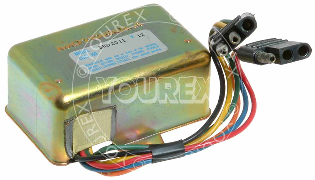 4003D30G01 - Regulator 12V - Motorola USA / Prestolite Ers - Regulatorer
